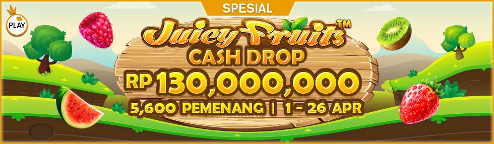 PP Juicy Fruits Cash Drop Multiplier